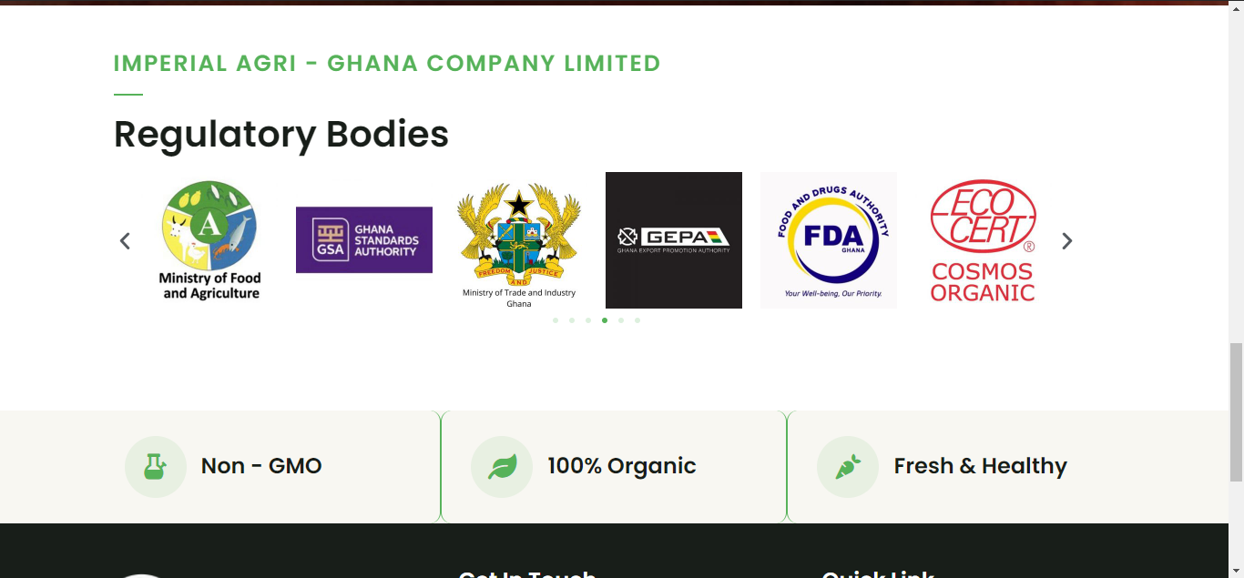 Imperial Agri Ghana Company Limited